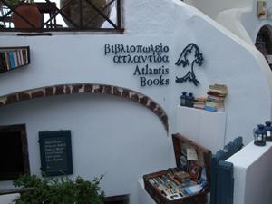 サントリーニ島のお店