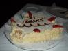 コスタフォーチュナ号のハネムーンケーキ